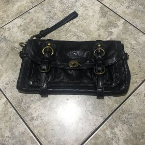 Black Coach bag great style works with everything!